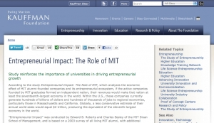The Role of MIT